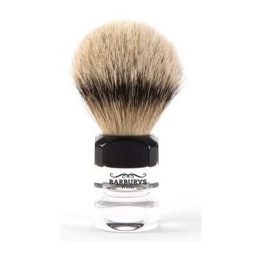 Blaireau professionnel pour barbe modèle Silver Diamond