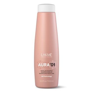 shampoing micellaire pour lissage Aura de chez lakmé shampoing micellaire phase 1