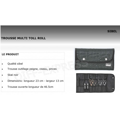 Fiche Trousse outillage Multi Toll Roll