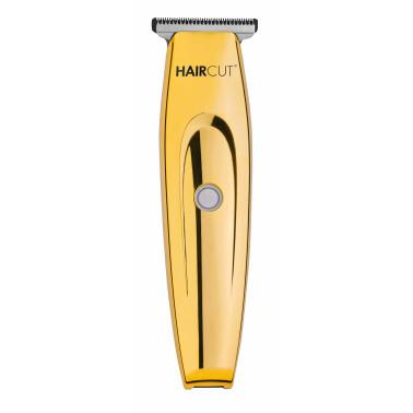 Tondeuse cheveux professionnelle de finition TH55 marque haircut coloris gold