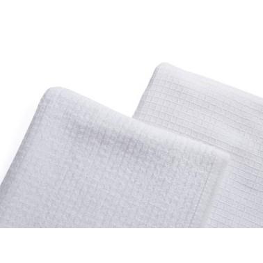 Serviettes spécial rasage homme Barburys coloris blanc