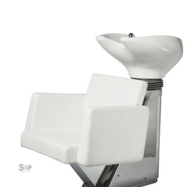 Bac coiffure pour cheveux professionnel. Mobilier pour coiffeur. Patin (la Place) marque Seap Proyectos
