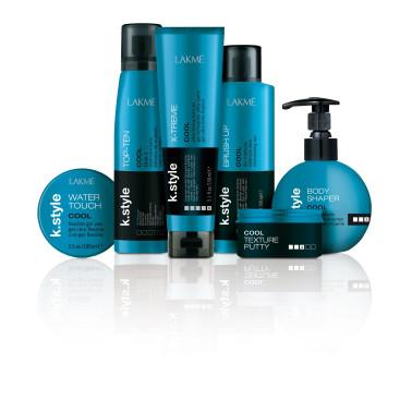 Gel  pour cheveux fixation Extra Forte 150 ml X-gamme cool Lakmé