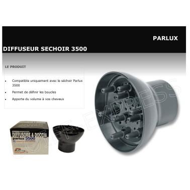 Fiche diffuseur pour Parlux 3500