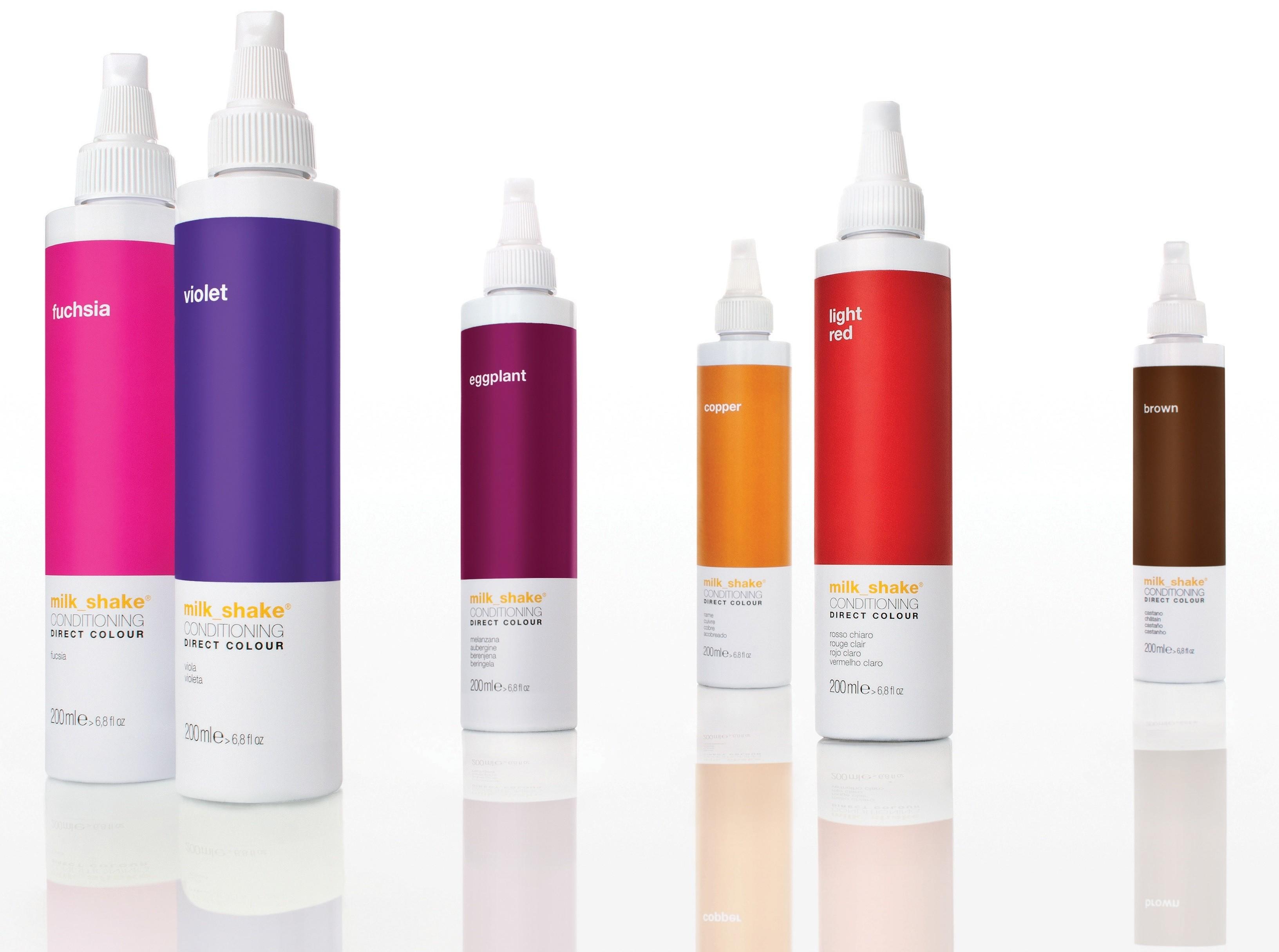 coloration professionnelle temporaire milk shake 200 ml - Mousse Colorante Temporaire