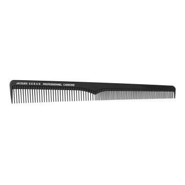 peigne de coupe professionnel en carbone pour salon de coiffure