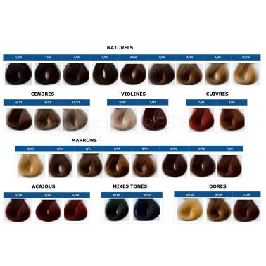 Coloration professionnelle bio cheveux sans ammoniaque Chroma