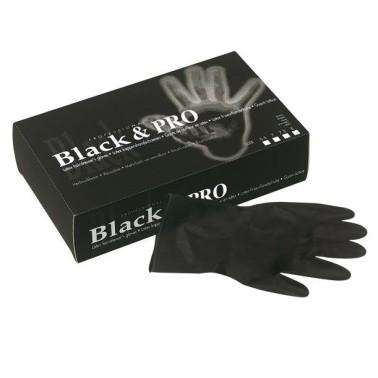 Gants professionnels spécial coiffure Black and Pro boite de 20 pièces