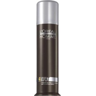 Pommade de modelage pour cheveux professionnelle Mat marque l'oréal
