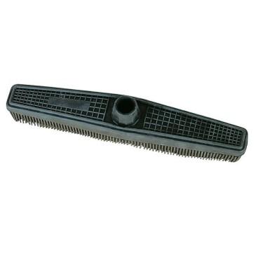 Balai sol caoutchouc cheveux, poils salon de coiffure