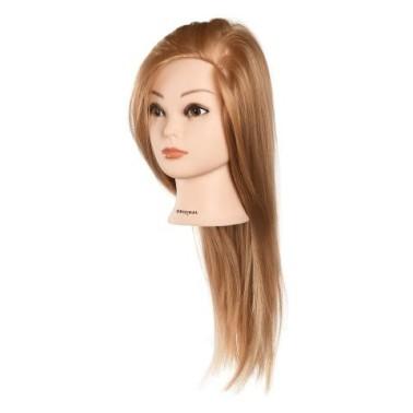 Tête D'apprentissage Annabelle pour école de coiffure et coiffeuse débutante
