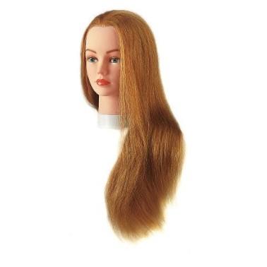 Tête D'apprentissage julie pour ecole de coiffure et concours. spécial cap et bp