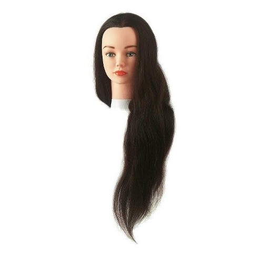 Tête D'apprentissage jenny pour ecole de coiffure et concours. spécial cap et bp
