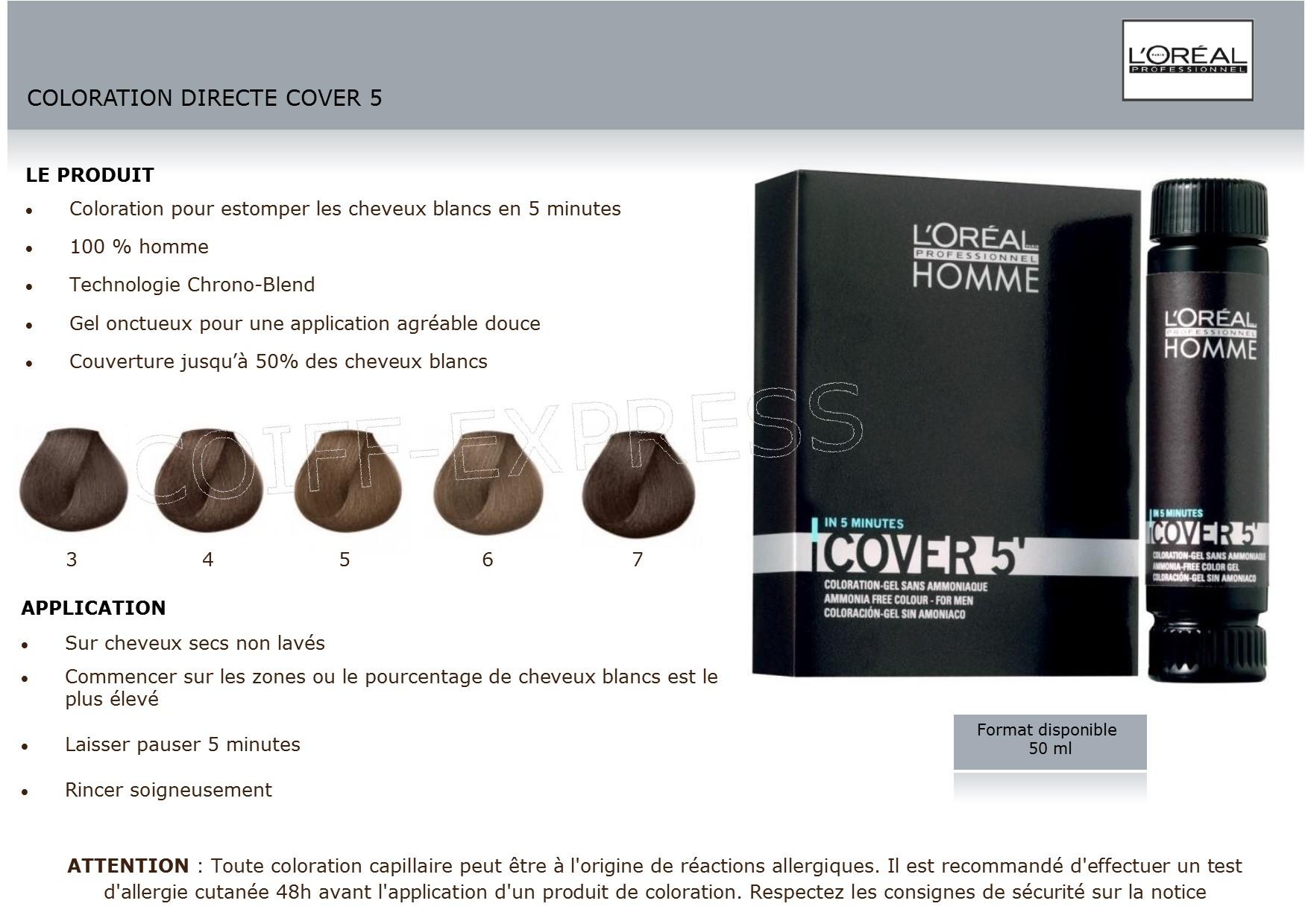 Coloration Cheveux Pour Hommes L Oreal